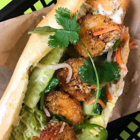 Shrimp Po' Boy Banh-mi