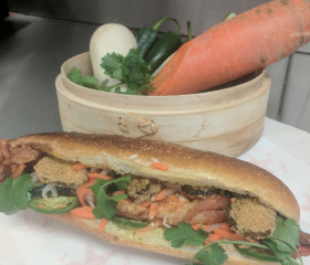 The Nashville Hot Banh Mi