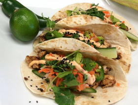 Chargrilled Chicken Tacos