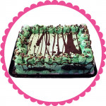 Mint Chip Quarter Sheet Ice Cream Cake