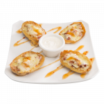 Loaded Potato Skins (2911kj)