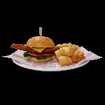Crispy Chicken Burger (4298kJ)