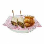 Vegan Schnitzel Wrap (3707kJ)